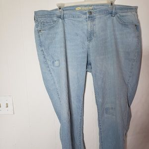 Light Colored Old Navy Jean's